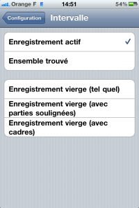 Plage d'enregistrements pour l'impression sous FileMaker Go 1.2